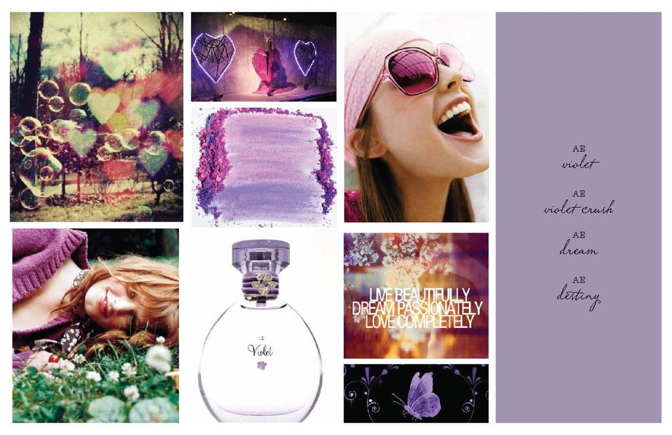 American Eagle Outfitters – Fragrance Development Concepts